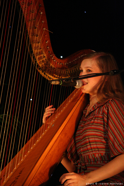 Joanna Newsom @ the Spiegeltent