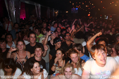 Crowd @ Beck's Festival Bar